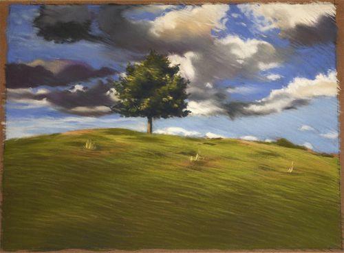 Pastel-arbre